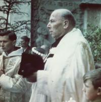 MartinPfrJoh_Empfang-Bischof-1941_Archiv-SchneiderFJ-A-7
